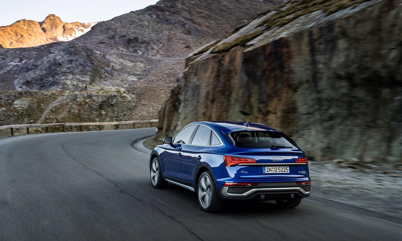 Audi Q5 Sportback trasera