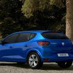 Dacia Sandero 2021 trasera