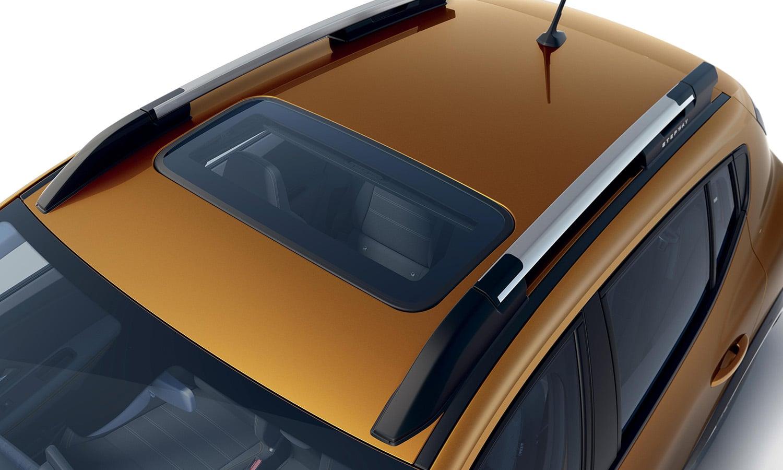 Dacia Sandero techo solar cristal