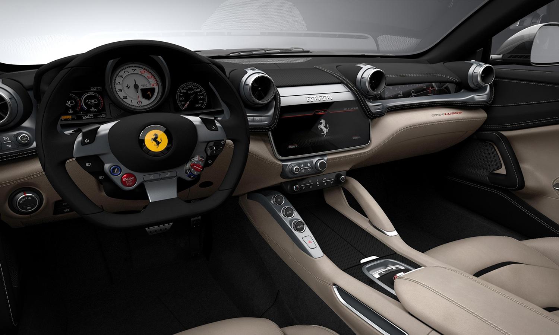 Ferrari GT4Lusso interior