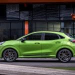 Ford Puma ST lateral