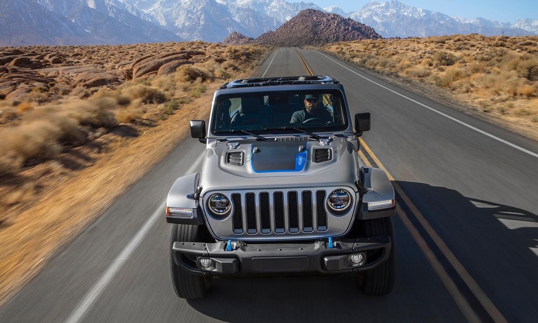 Jeep Wrangler 4xe frontal
