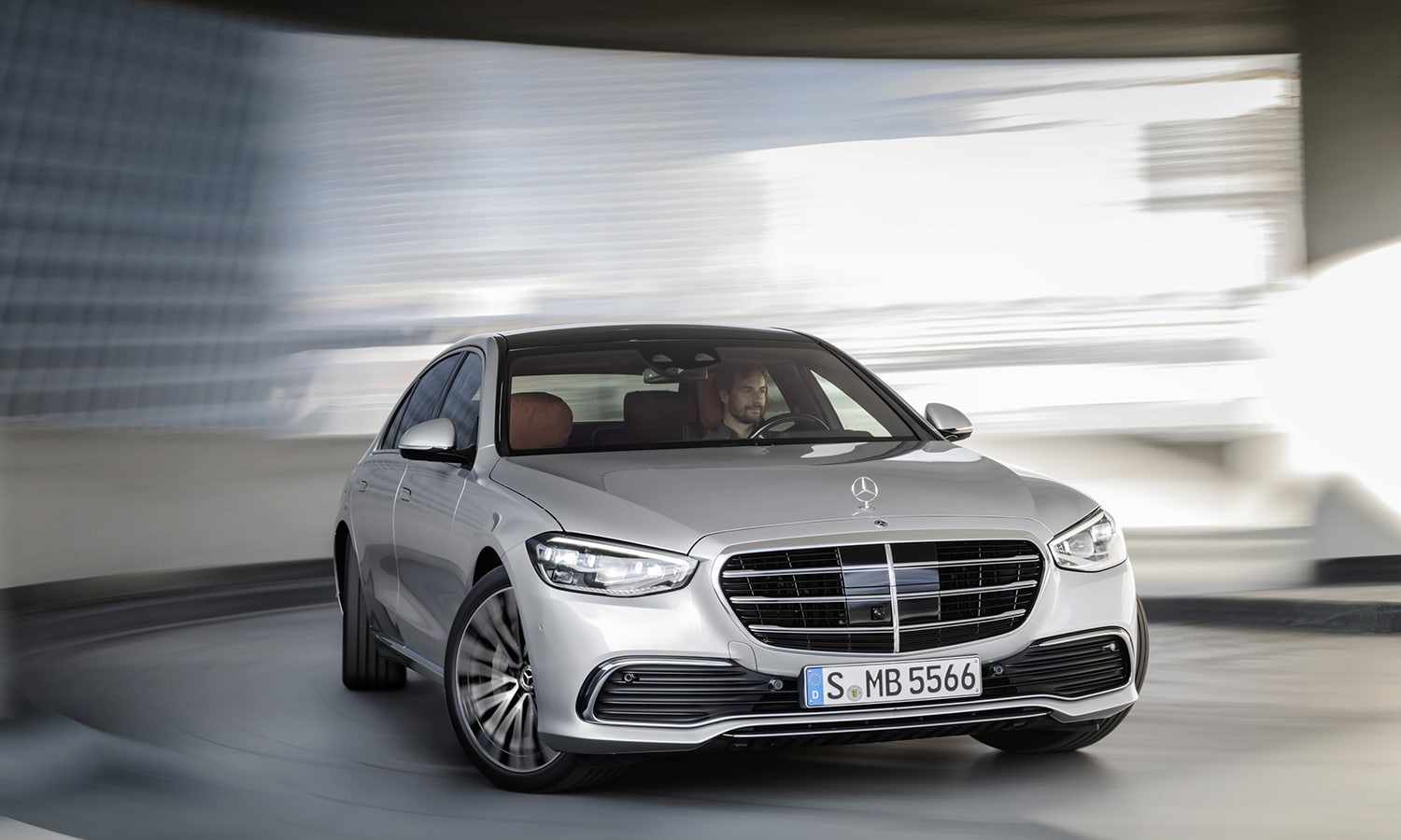 Mercedes Clase S frontal