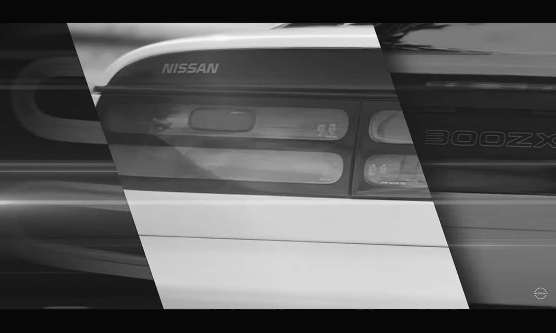 Nissan Z proto luz trasera