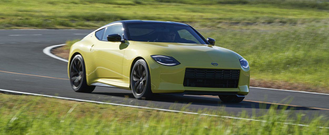 Nissan Z Proto dinámica
