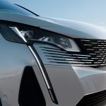 detalle faro Peugeot 3008