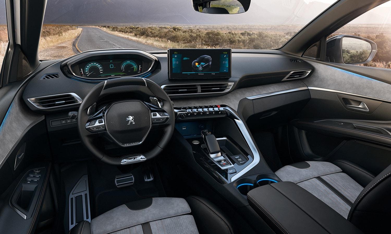 Peugeot 3008 diseño interior