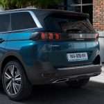 Peugeot 5008 parte trasera
