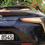 Detalle maletero Lexus LC 500 Cabrio