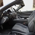 Plazas delanteras del Lexus LC 500