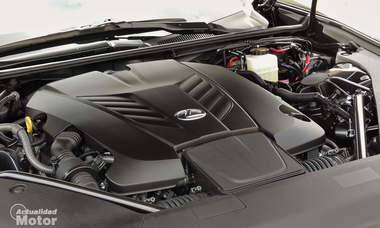 Motor V8 atmosférico 5.0 Lexus