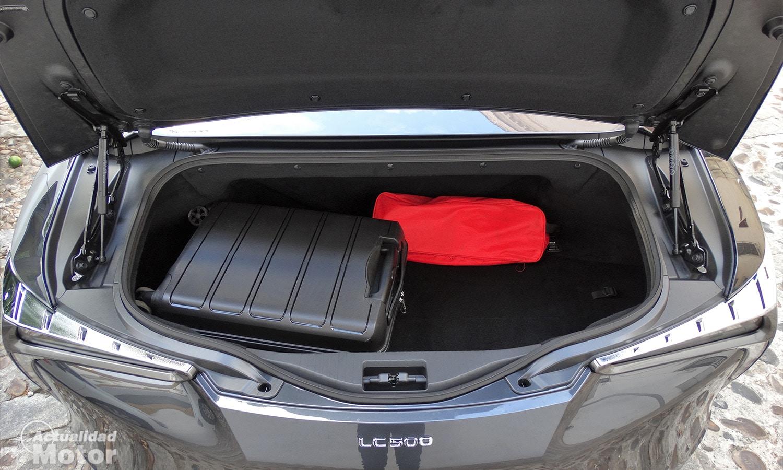Maletero del Lexus RC 500 Cabrio