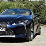 Frontal Lexus LC