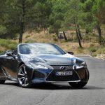 Prueba dinámica Lexus LC 500 Cabrio