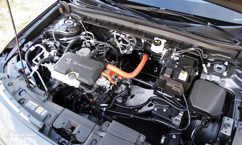 Prueba Mazda MX-30 motor