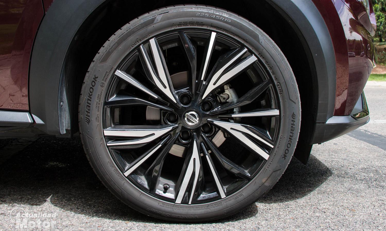 Llantas de 19 pulgadas del Nissan Juke de acabado superior