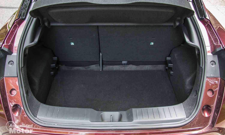 Maletero de 422 litros el Nissan Juke