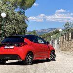 Prueba Toyota Yaris perfil trasero
