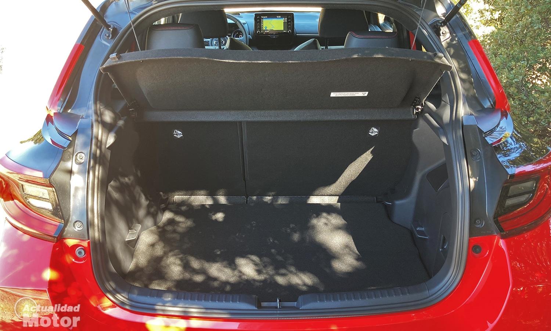 Toyota Yaris maletero