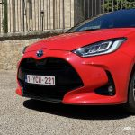 detalle frontal Toyota Yaris 2020