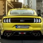 Ford Mustang Mach 1 Grabber Yellow Europe 2021 5