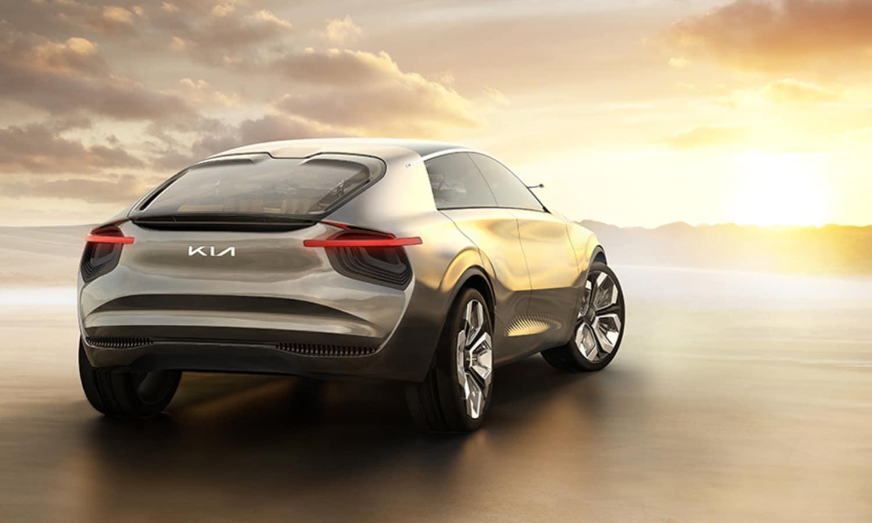 Imagine by Kia Electric Concept Car 2019 rear