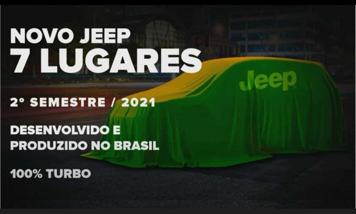 Jeep SUV 2021 7 Plazas