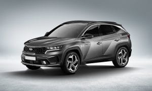 Kia Sportage 2021 render by KDesign AG 0