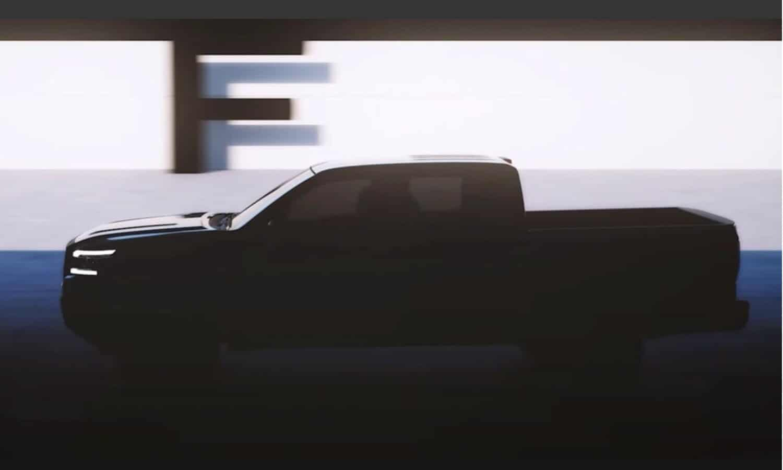 Nissan Frontier 2021 teaser - Nissan Navara 2021 teaser