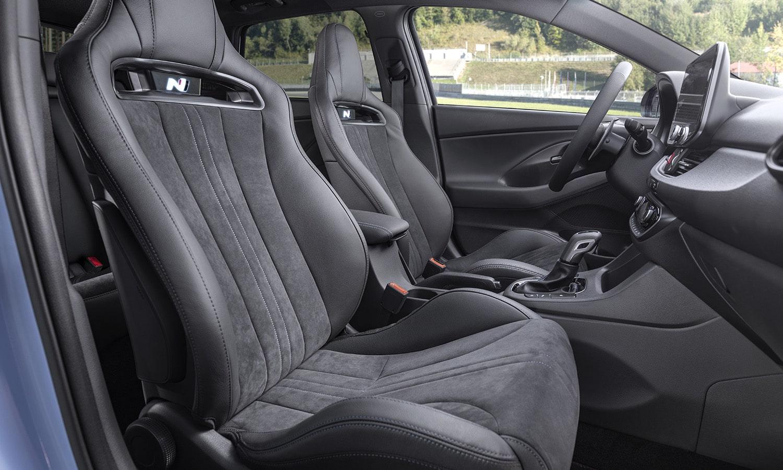 Hyundai i30 N asientos deportivos