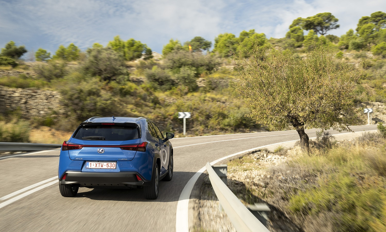 Lexus UX eléctrico