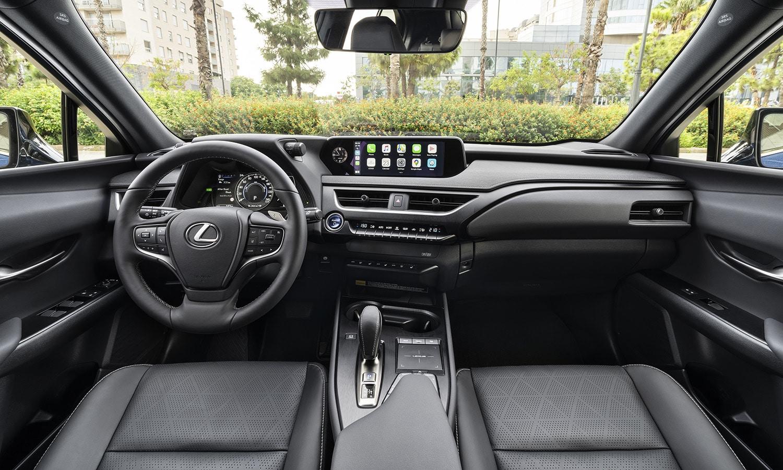 Prueba Lexus UX 300e salpicadero