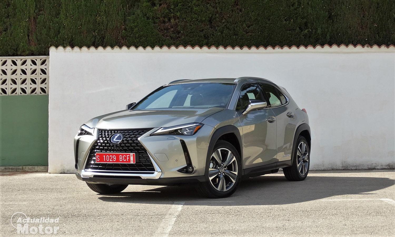 Prueba Lexus UX 300e perfil