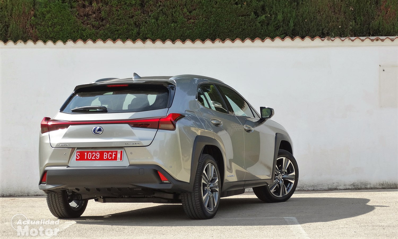 Prueba Lexus UX 300e trasera