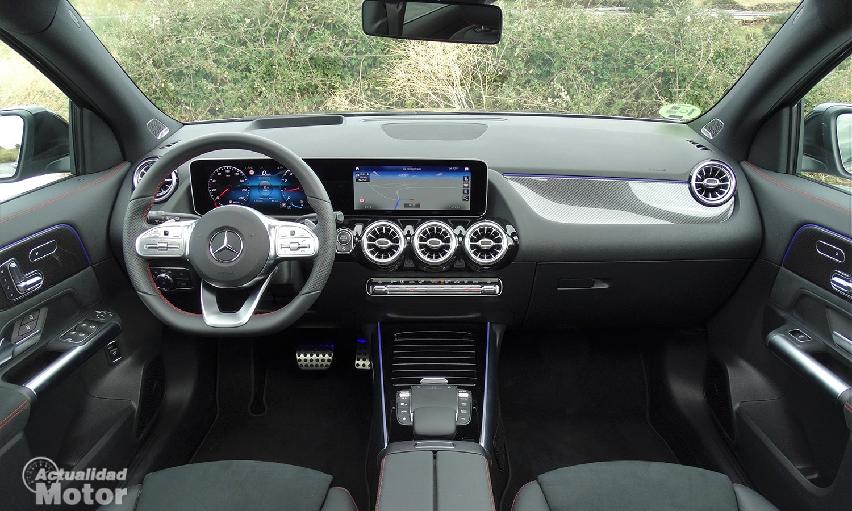 Prueba Mercedes GLA 200 interior