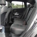 Prueba Mercedes GLA espacio plazas traseras