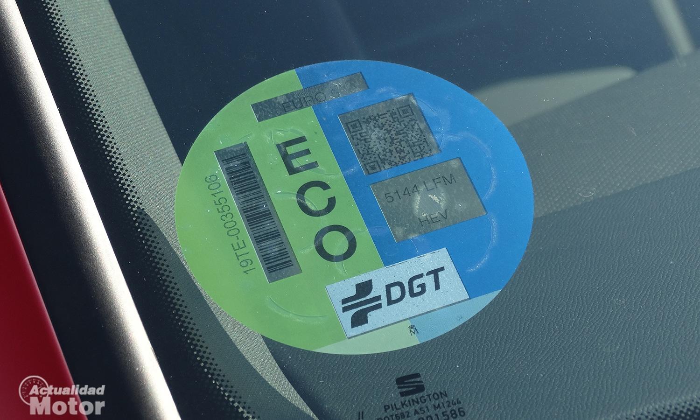 Pegatina Eco DGT