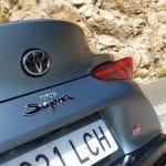 Prueba Toyota Supra A90 detalle