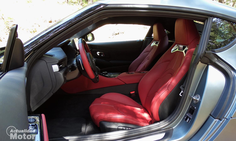 Prueba Toyota GR Supra interior