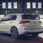 Volkswagen Golf GTI Clubsport perfil trasero