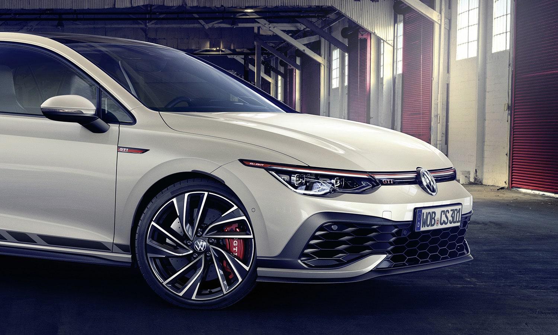 Volkswagen Golf GTI Clubsport parte delantera