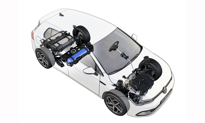 Volkswagen Golf 1.5 TGI 130 CV