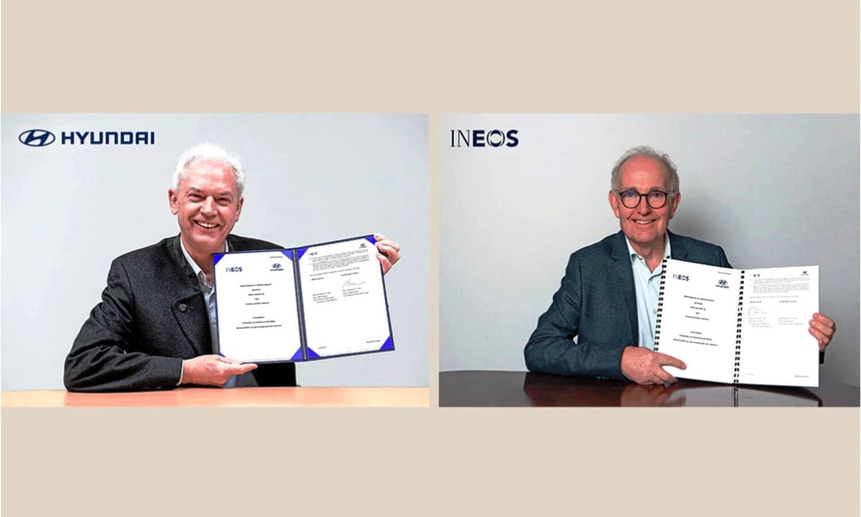 Hyundai e INEOS se unen para el desarrollo de la tecnología de hidrógeno