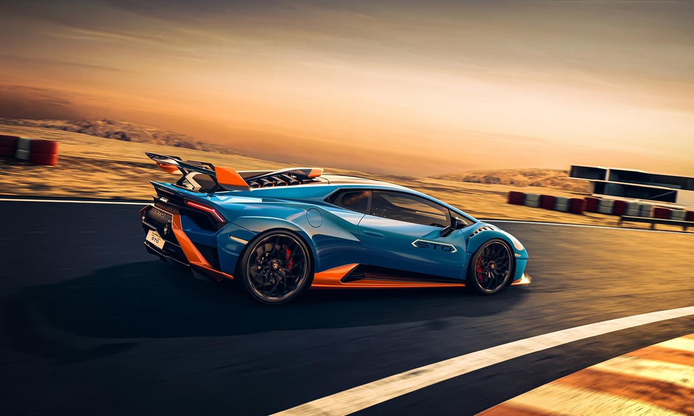 Lamborghini Huracán STO dinámica