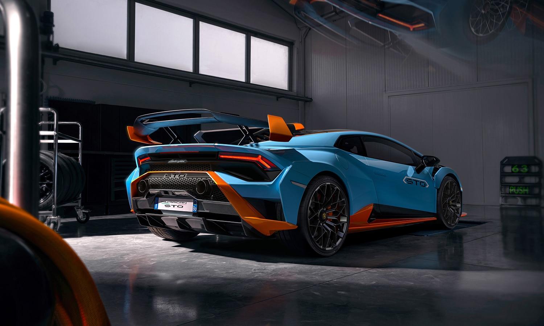 Lamborghini Huracán STO trasera