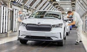 Skoda Enyaq iV start production 2021