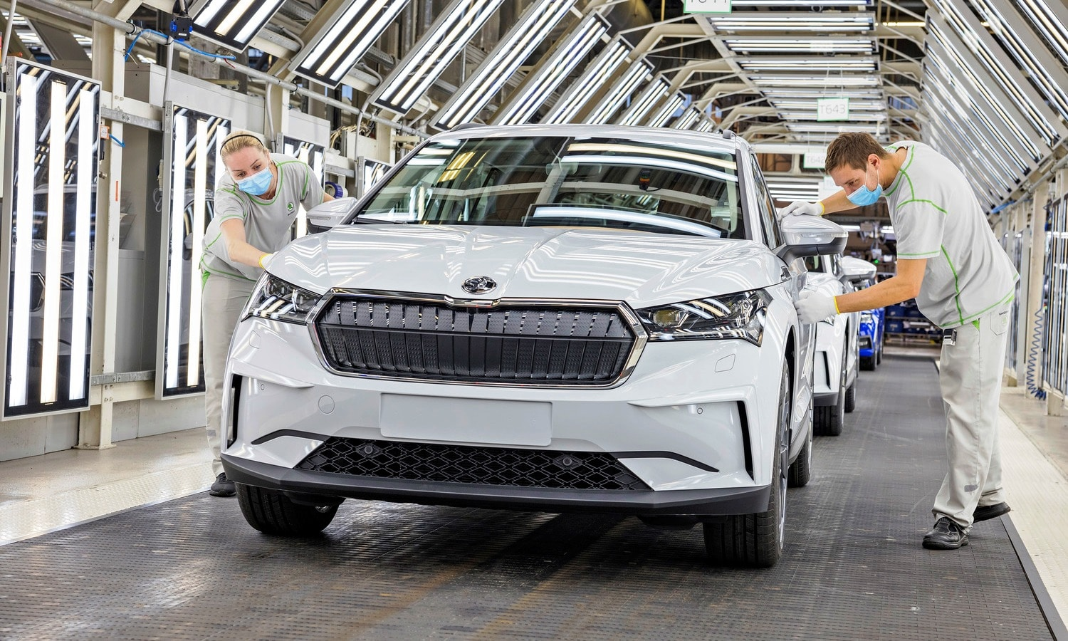 Skoda Enyaq iV start production 2021