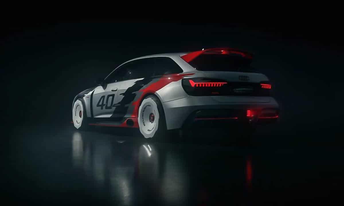 Trasera del Audi RS6 GTO Concept