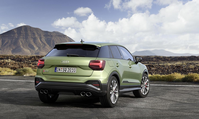 Audi SQ2 perfil trasero