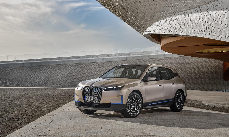 Exterior del BMW iX standard